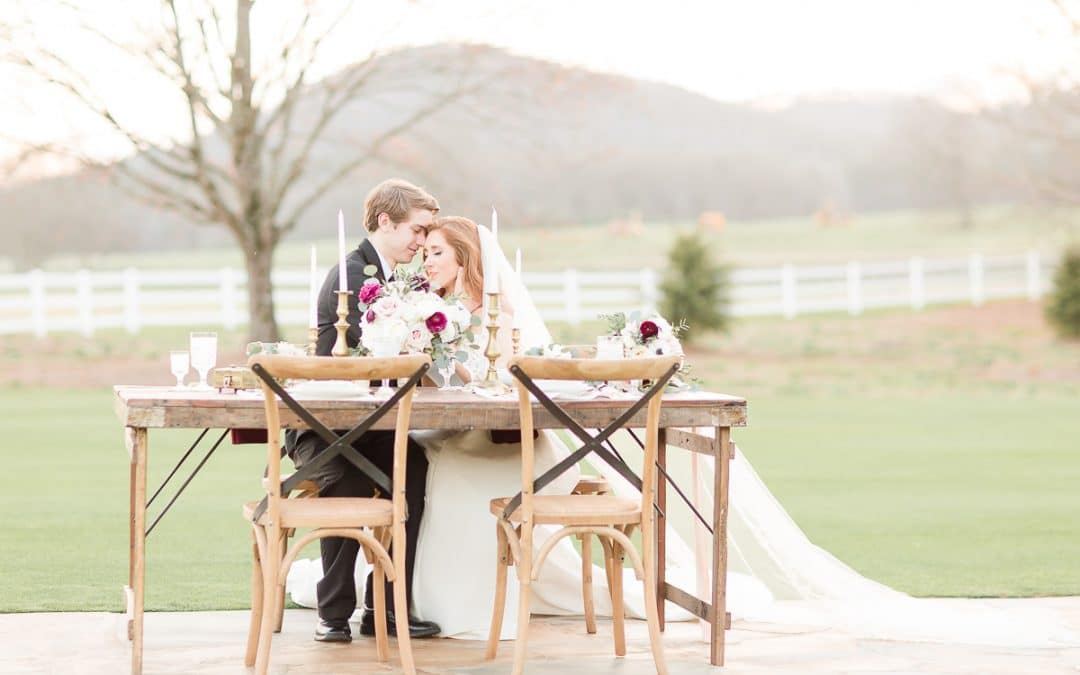 Hamilton Place at Pursell Farms Styled Shoot