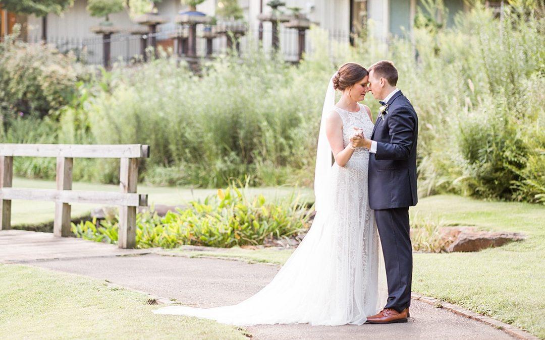 Amy & Hayden's Garden Wedding | Aldridge Garden's | Kendal Perry