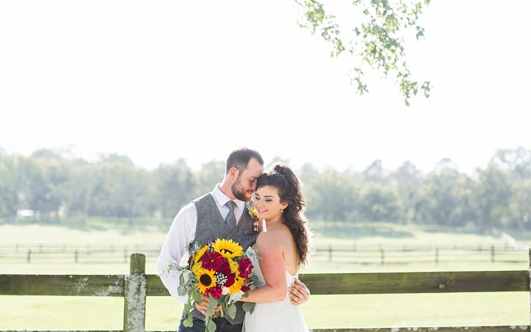 Meagan & Griffin's Rustic Wedding | Stables of Alabama | Kendal Perry