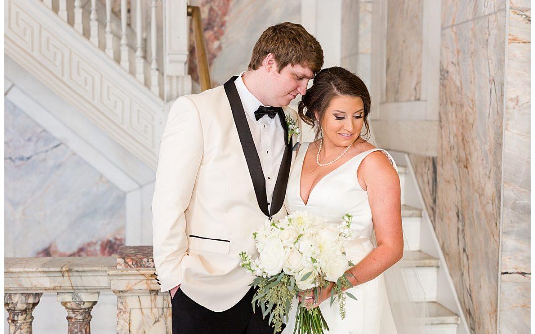 Meredith & Kevin's Ivory & Black Birmingham Wedding