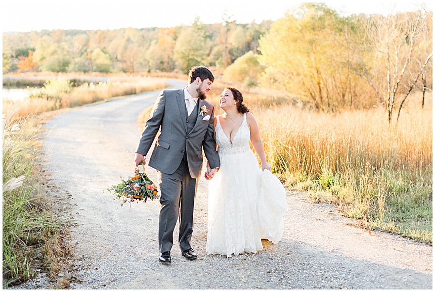 Meagan & Cody's Fall Wedding at Otter Creek