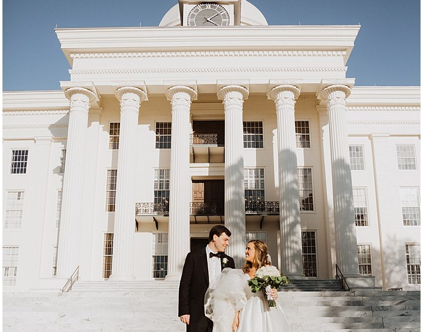 Katie & Will's Classic Winter Wedding