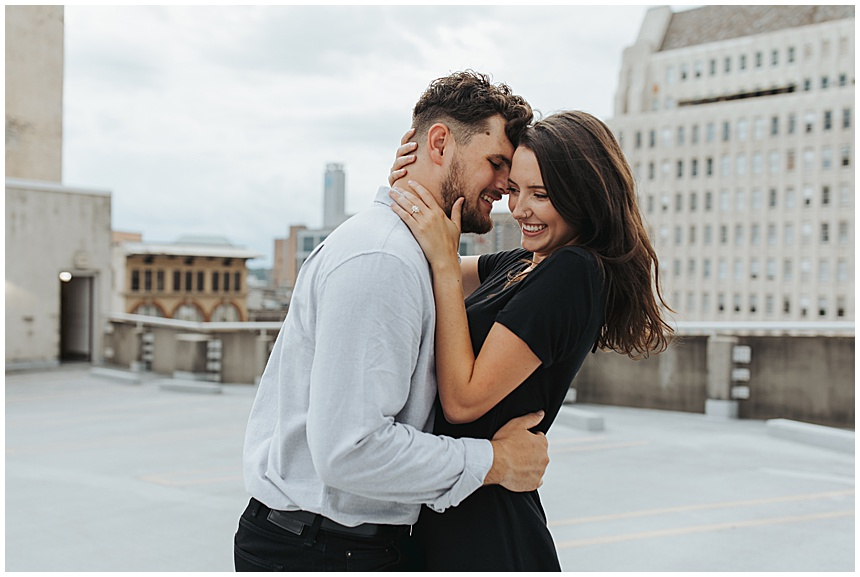 Kayla & Brett's Downtown Birmingham Engagement